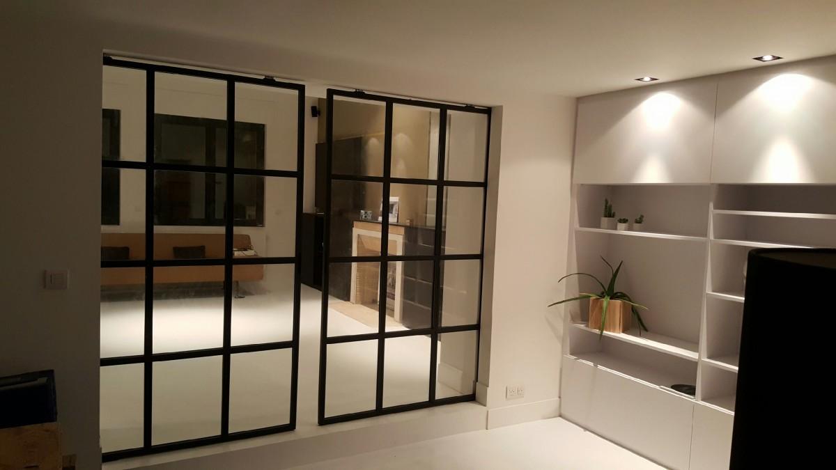 cloison type atelier latest beau cloison type atelier et verriare intarieur collection des. Black Bedroom Furniture Sets. Home Design Ideas